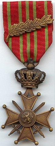 Belgium Croix de Guerre