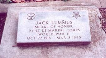 Jack Lummus marker