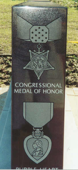 Medal of Honor post