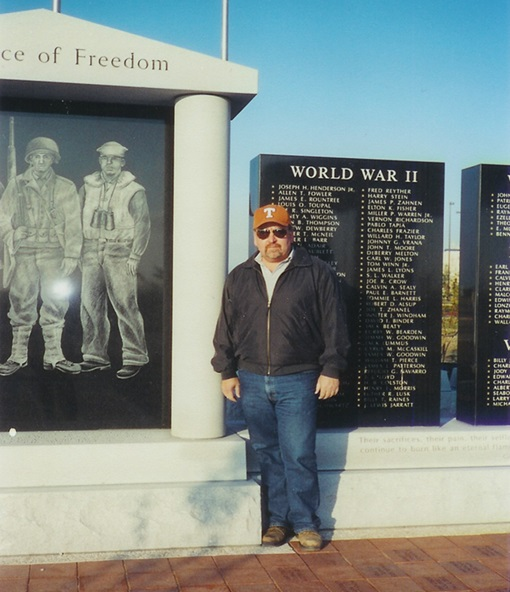 Perry Giles, Monument Architect and Co-Chairman of Ellis County Veterans Appreciation Day