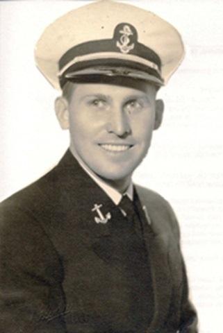 LTJG John McElroy, USN