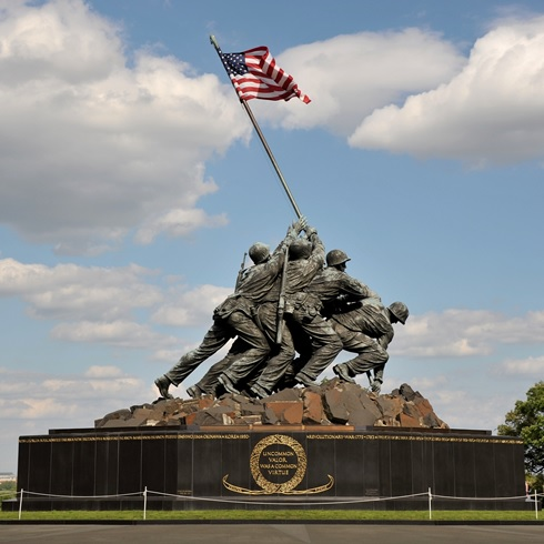 Marine Corps War Memorial Arlington, Virginia
