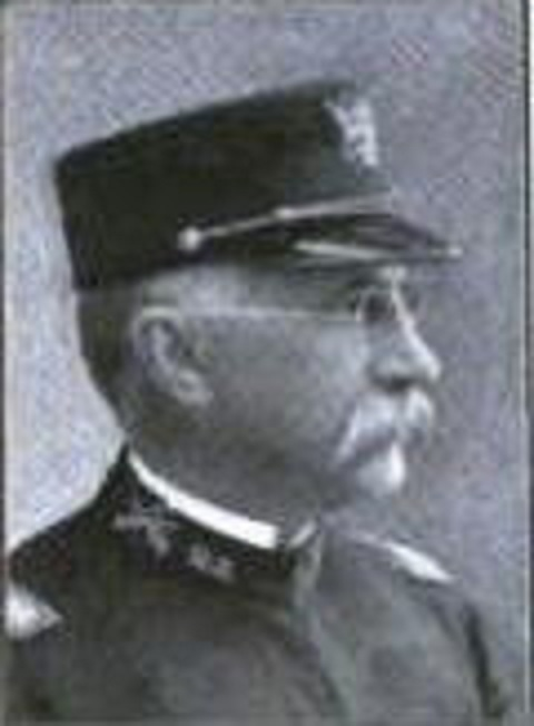 Colonel Charles A. Wickoff, U.S. Army Spanish American War