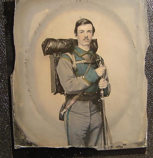 "Unknown Confederate Soldier Company E, ""Lynchburg Rifles,"" 11th Virginia Infantry Volunteers, 1861"
