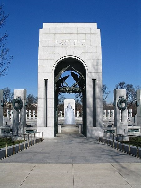 Pacific Arch of the National WWII Memorial-Washington, DC