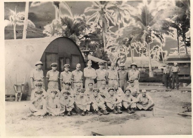 Motor Torpedo Boat Squadron Ron 9 Officers Solomon Islands, June 1943 (LTJG McElroy - 2nd from left, back row)