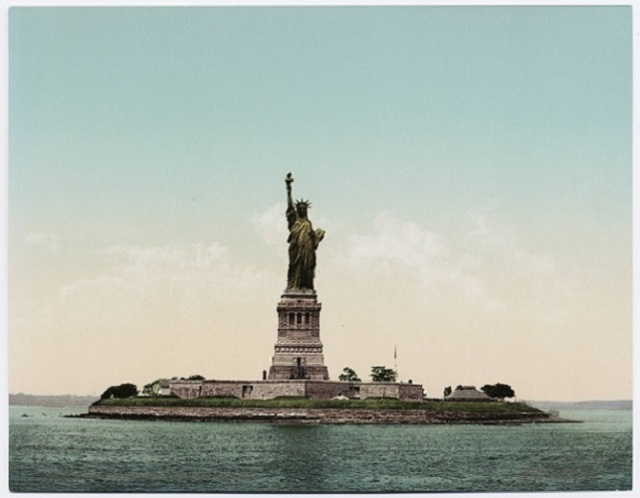 Statue of Liberty Liberty Island New York City, New York Circa 1900