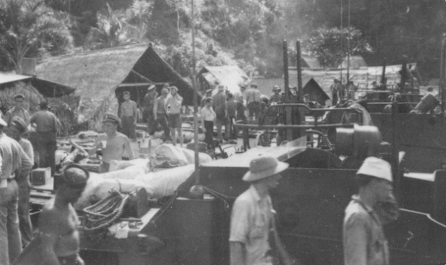 Establishing the PT Boat Base at Tulagi, Solomon Islands