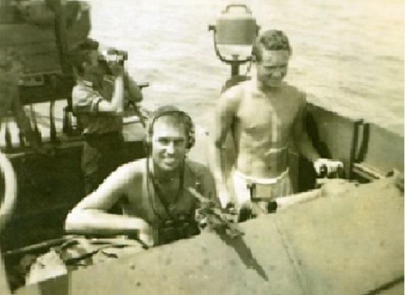 LTJG John McElroy PT-161 Skipper