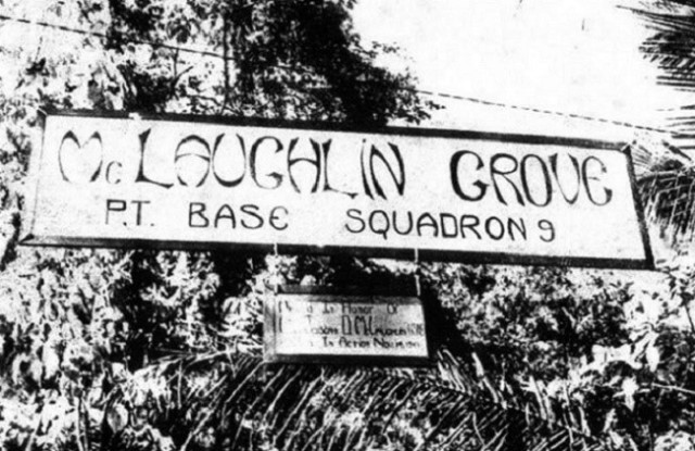 McLaughlin Grove Rendova PT Boast Base Squadron 9, 1943