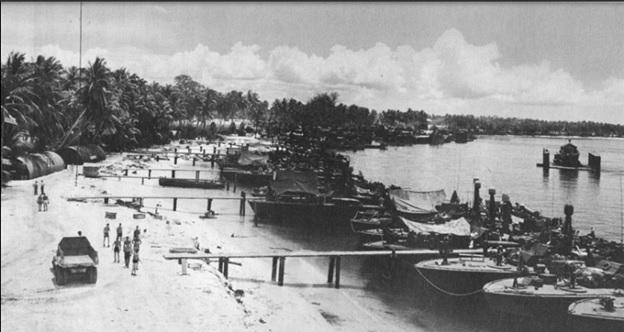 PT Base Rendova Island