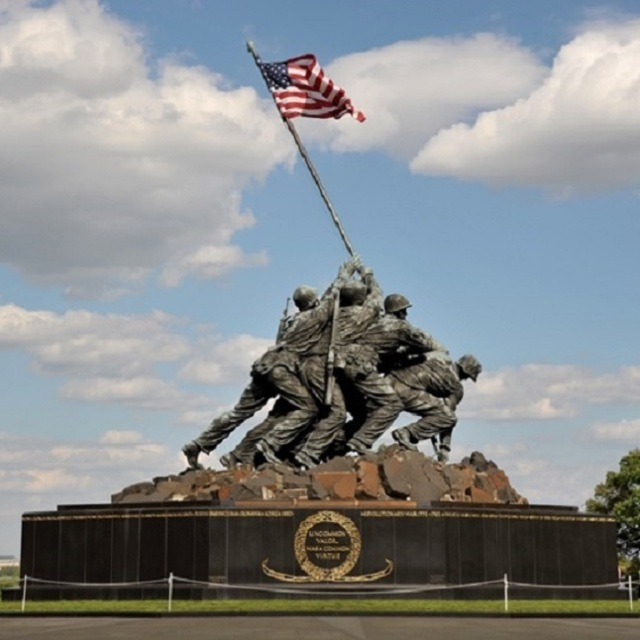 Marine Corps War Memorial Arlington, Virginia