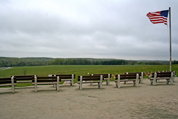 May, 2006 in Shanksville, PA at the site of the United 93 crash on September 11, 2001. Photo by Joey BLS