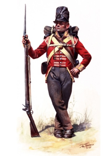 A War of 1812 Soldier