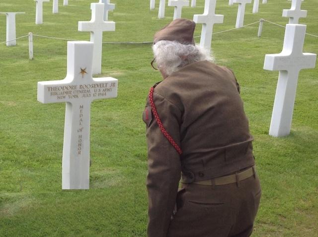 Sgt Maj Blatnik-Roosevelt grave